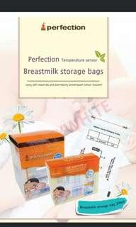 Jaco Perfection breastmilk storage bag