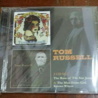 Music CD (2×CD): TOM RUSSELL - Rose Of The San Joaquin / The Man From God Knows Where