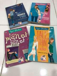 Novel TeenLit karya Dyan Sheldon Terjemahan Bahasa Indonesia