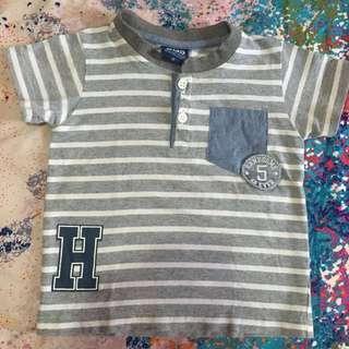 Stripe shirt for kids 2T