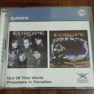 Music CD (2xCD): Europe ‎– Out Of This World / Prisoners In Paradise