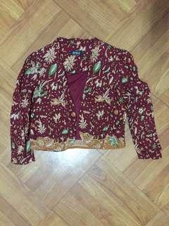 Eprise short blazer batik