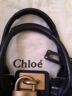 Authentic CHLOE PADDINGTON Leather bag (Retail $1700+) - excellent condition!