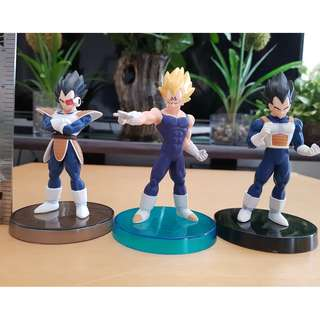 Vegeta Collection Real Works Figure 3pcs