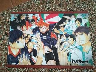 Haikyu!! + Kuroko's Basketball