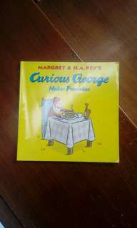 Buku Cerita Anak Curious George Makes Pancakes