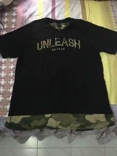Black (Army) Tshirt Size L
