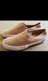 FILA 懶佬鞋 (全新●真皮面)