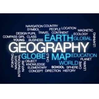Geography Notes Secondary / IP