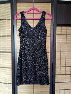 Glitzy dress!