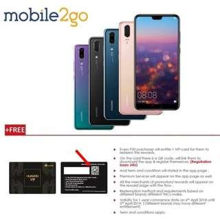 Huawei P20 [128GB+4GB] Ready Stock + Free Gift worth RM499