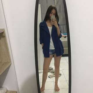 BLUE SUEDE COAT OR BLAZER