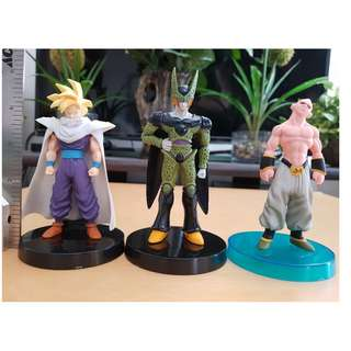 Gohan Cell Boo Real Works Figure 3 pcs