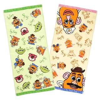 Japan Disneystore Disney Store Toy Story Standard Face Towel Set