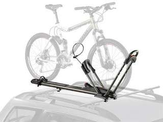 Yakima Highroller Bike Rack with complete set of cross bars, towers, fairing and locks!