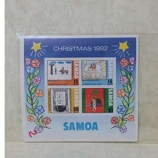 samoa (薩摩亞) 郵票
