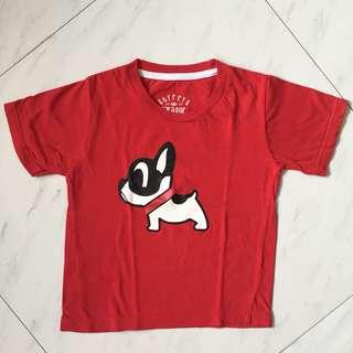 $2 Bulldog Red Shirt