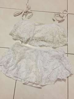 Lace Swim Suit