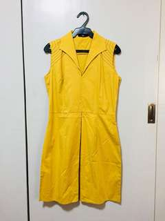Tyler Mustard Dress