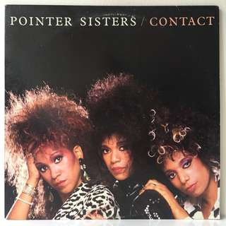 Pointer Sisters ‎– Contact (1985 USA Original - Vinyl is Near Mint)