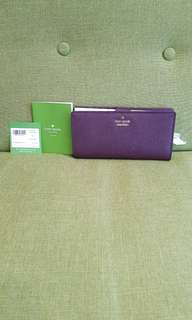 Brand New Kate Spade Long Wallet