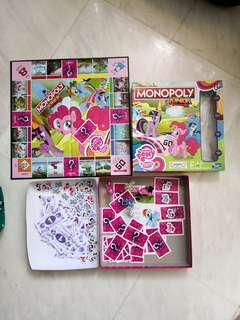 My little pony monopoly junior