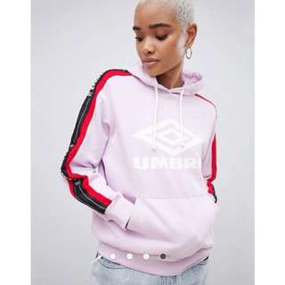 Umbro Hoodie With Logo And Taping