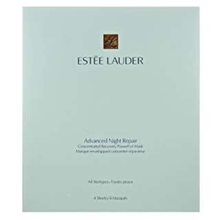 🚚 Estée Lauder Advanced Night Repair Concentrated Recovery PowerFoil Mask, 4 Pack