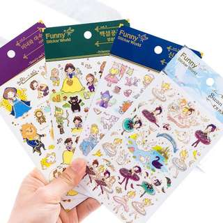 (PO) Fairy Tale Stickers Part 1