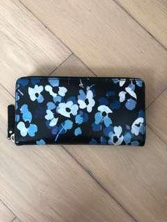 Kate Spade Blue Floral Wallet