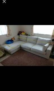 L shape sofa