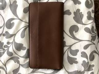 BN Coach Leather Clutch