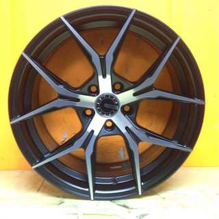 SPORT RIM 17inch D-ONE DESIGNS WHEELS