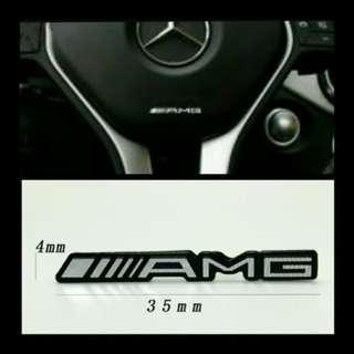 Mini AMG Emblem for Mercedes-Benz