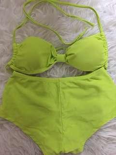 Green Lime Bikini