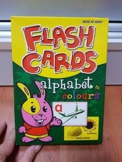Flash Cards alphabets