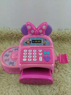 Minnie mouse cash register