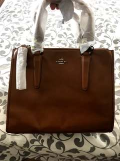 BN Coach leather bag for women