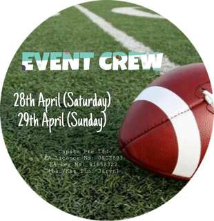[28-29April] HSBC Rugby 7s Event Crew