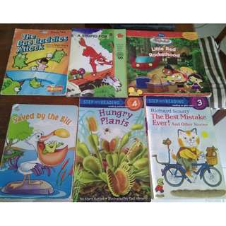 children books to be given away