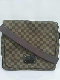 💯LV Damier Brookyln MM Messenger Bag
