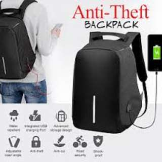 Anti Theft PackBag For men