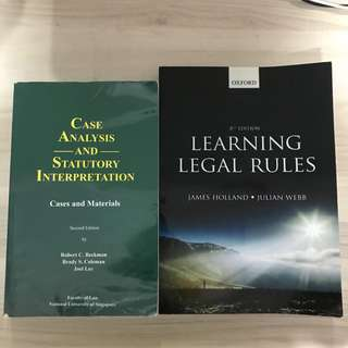 Legal Systems Texts (SMU)