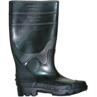 Meisons rubber boots no steel toe black color