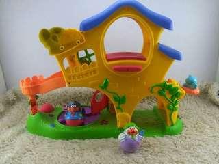 Playskool Weebles Home Playset