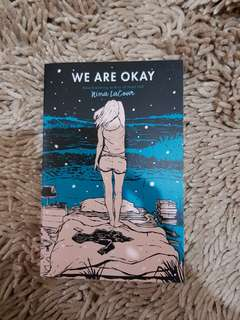 FREE ONGKIR We Are Okay