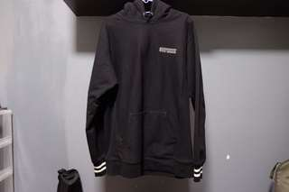 Supreme Striped Pull Over Hoodie