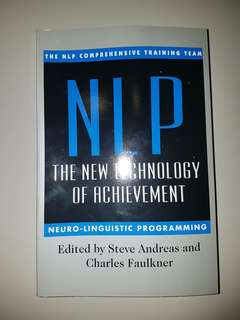 NLP The New Technology of Achievement Book