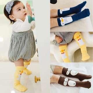 Instock - penguin socks, baby infant toddler girl boy children cute glad 123456789 lalalala