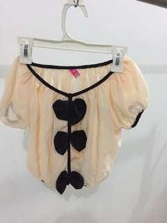 Puffy blouse